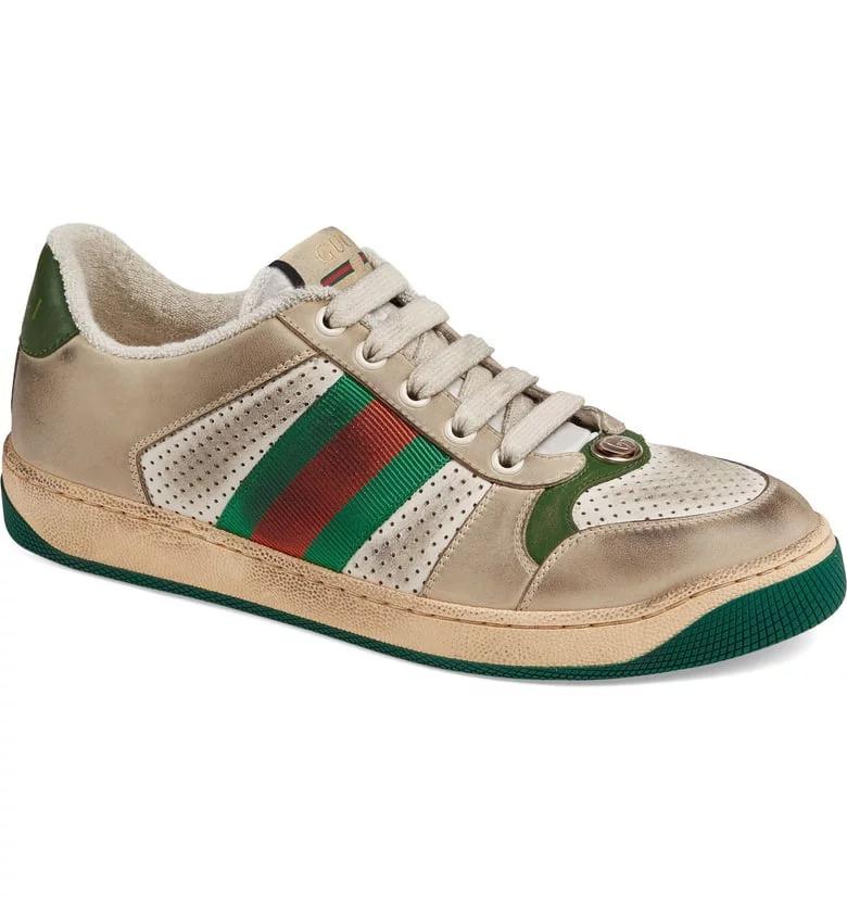 الحذاء الرياضى سنيكرز جوتشى لوو توب سكرينر