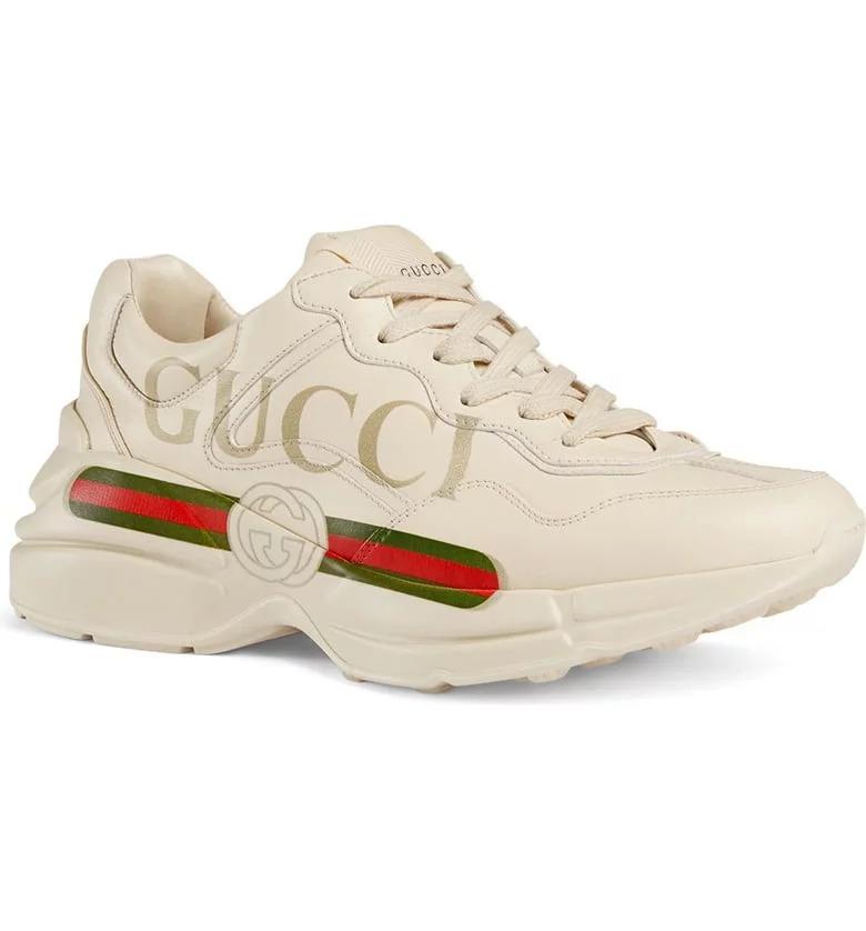 حذاء رياضى سنيكرز بعلامة ريتون من جوتشى