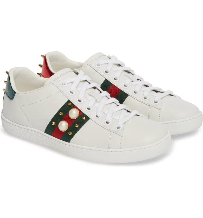 حذاء رياضى سنيكرز نيو إيس لو توب من جوتشى