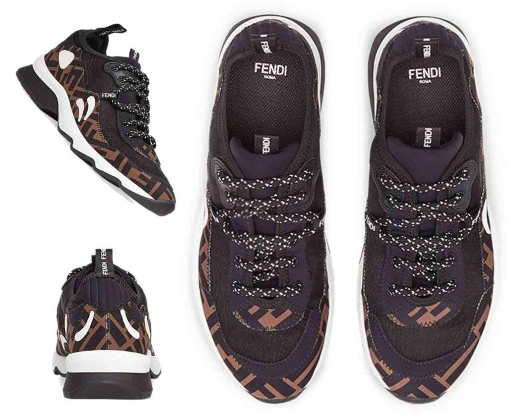 حذاء رياضي بشبك