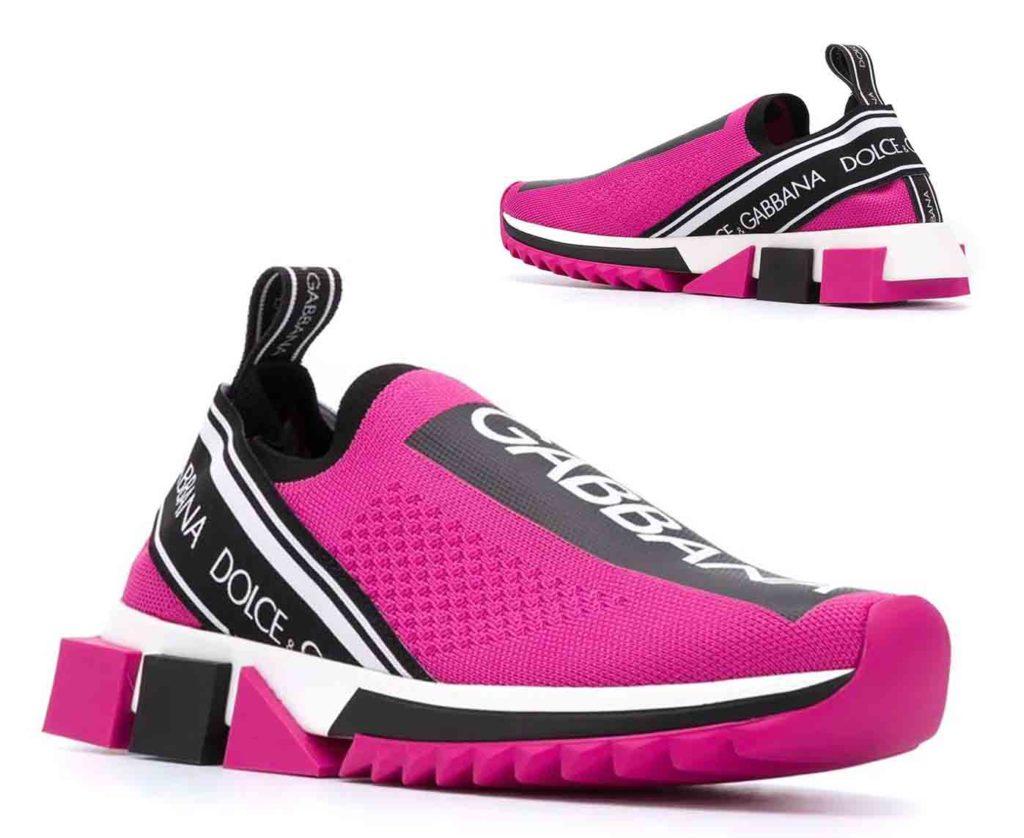 حذاء رياضي سورينتو بشبك مطاطي
