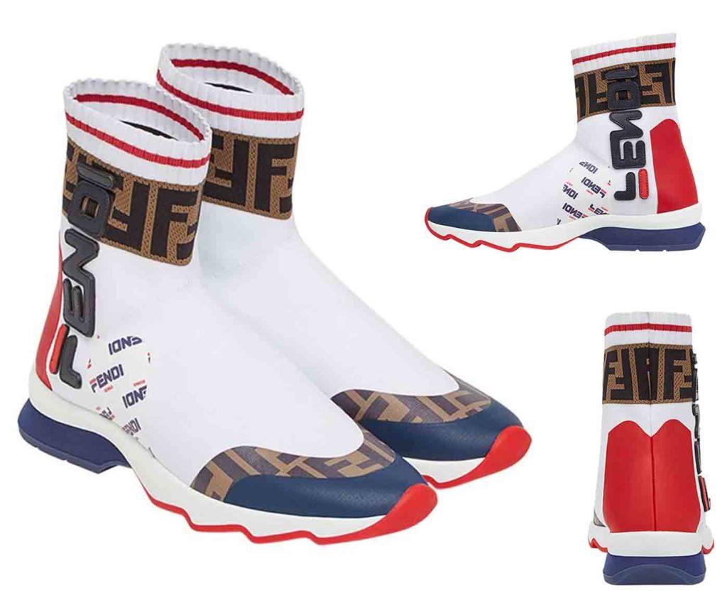 حذاء رياضي سوك ستايل