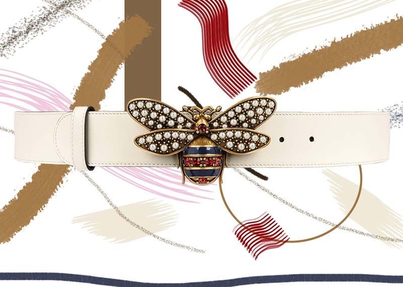 حزام جلد جوتشى كوين مارجريت