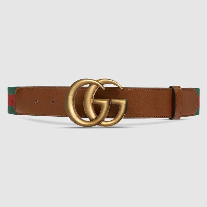حزام جوتشى ويب مع مشبك بشعار G متكرر