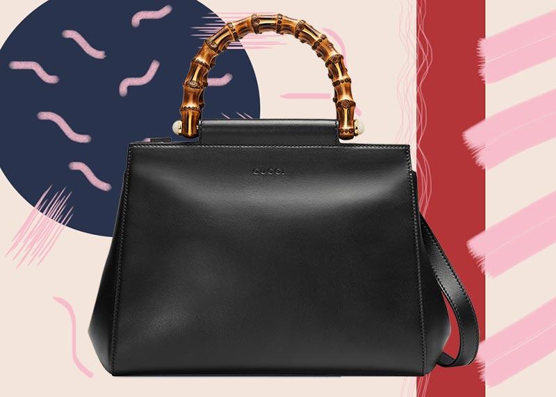 حقيبة يد جلدية نيمبيا من جوتشى