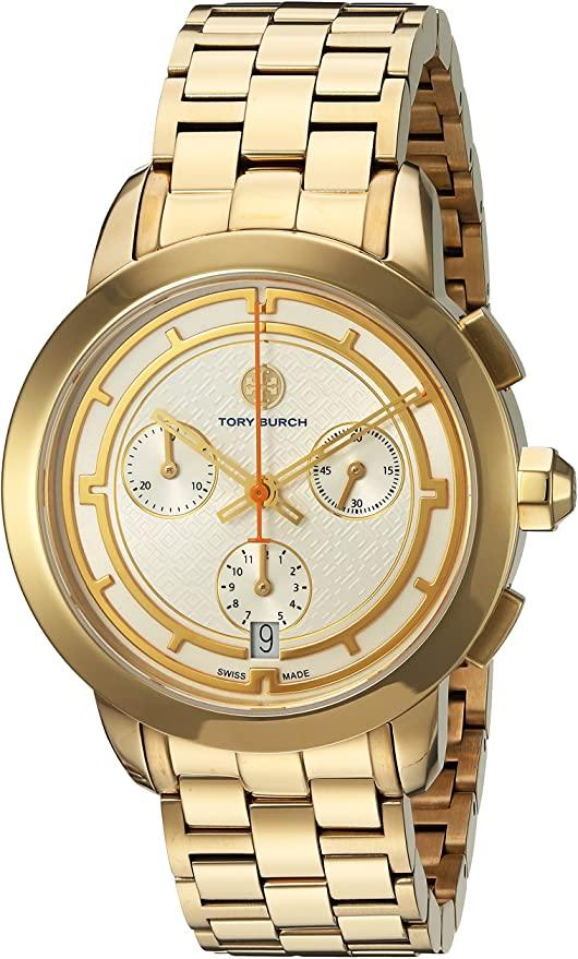 ساعة تورى بورش ذهبية