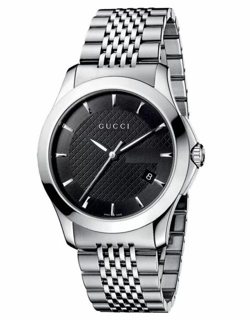 ساعة جوتشي حريمي موديل YA126502 G-Timeless ستانلس-ستيل