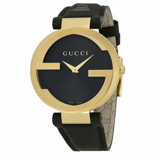 ساعة جوتشي للجنسين موديل Unisex YA133312 Interlocking GRAMMY